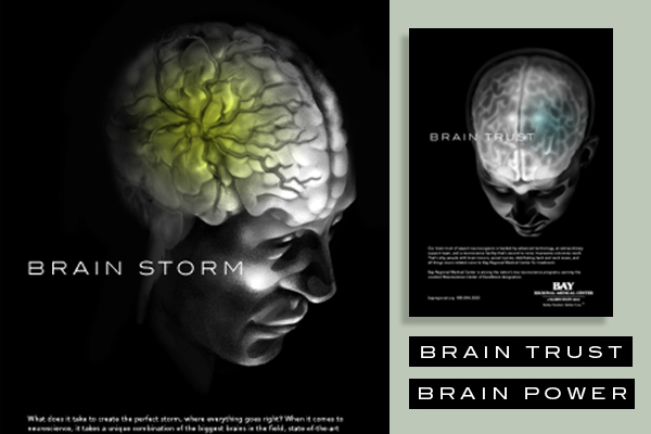 Neuroscience Print Ads